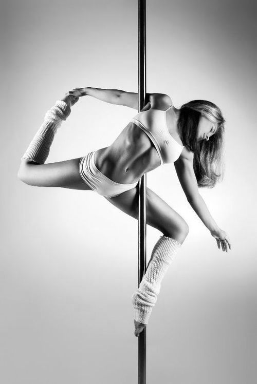 Twisted ballerina!! Can do this from the floor - next step, on the pole! :)