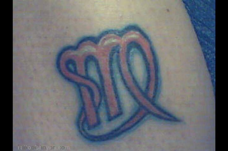 zodiac symbol virgo sign tattoo design 640x480 pixel tattoo design