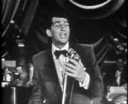 Dean Martin - That's Amore (1956) ...he was nicknamed Mr. Cool and cool was he alright, everybody liked him, he had no color barrier, he was just that, the coolest dude ever!!!