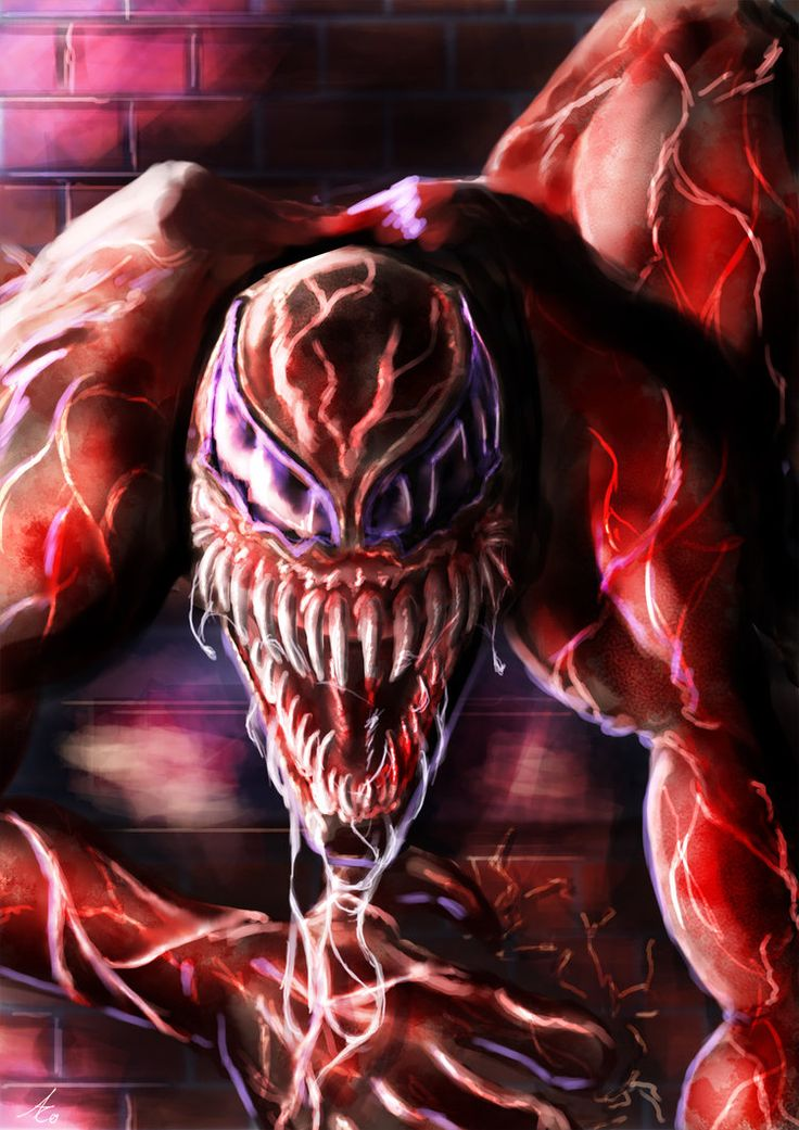 CARNAGE  #Fan #Art. (Carnage) By: Alecyl.