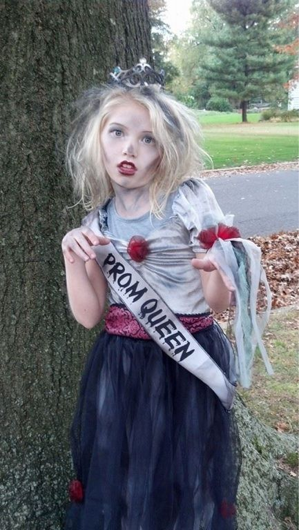 Zombie Prom Queen Face Paint Ideas