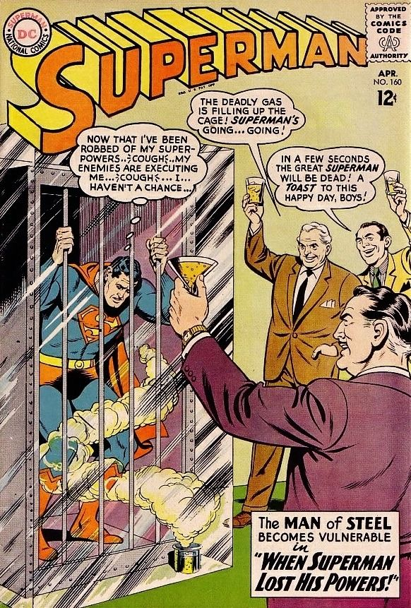 Superman #160 - When Superman Lost His Powers! (Issue)