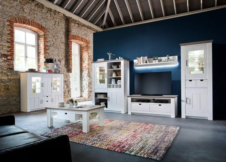 Die besten 25+ Landhausmöbel weiss Ideen auf Pinterest - wohnzimmer nussbaum weis