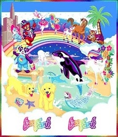 Lisa Frank. Being in elementary school and Jr high in the 90's, I had my fair share of this stuff!