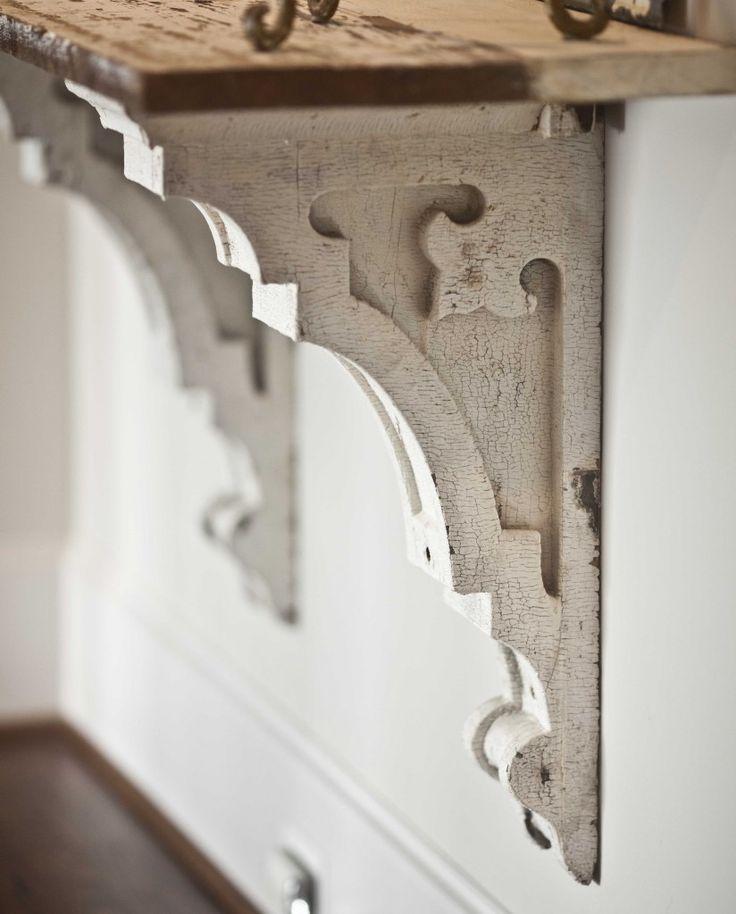 Antique Architectural Salvage Elements for a New Home www.cedarhillfarmhouse.com