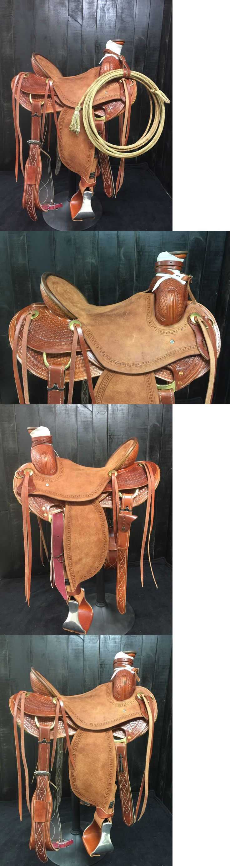 Saddles 47291: Custom Association Roping Saddle - Ranch Wade Training - Made For You!! -> BUY IT NOW ONLY: $1299.99 on eBay!