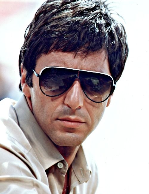 38 best images about al pacino on pinterest rare photos for Occhiali al pacino scarface