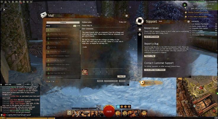 Guild Wars 2 - Various Windows