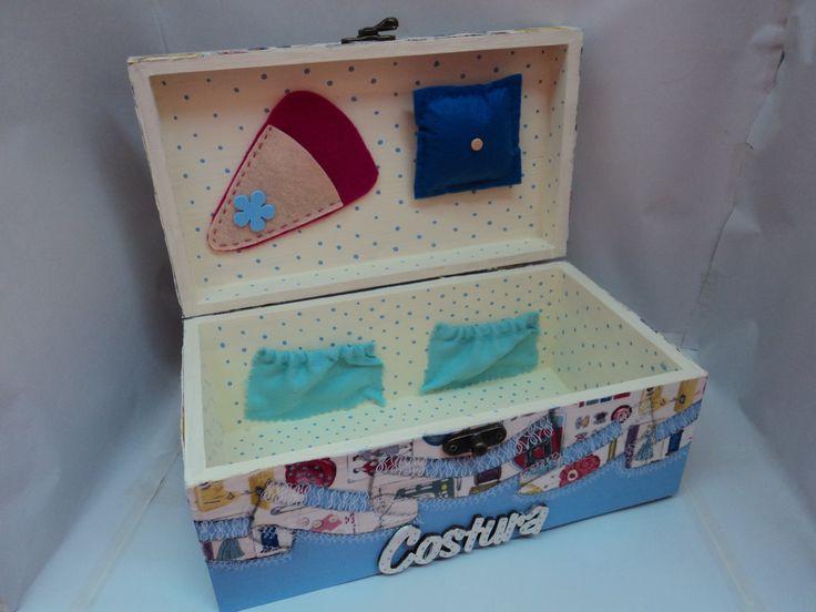 caixa de costura