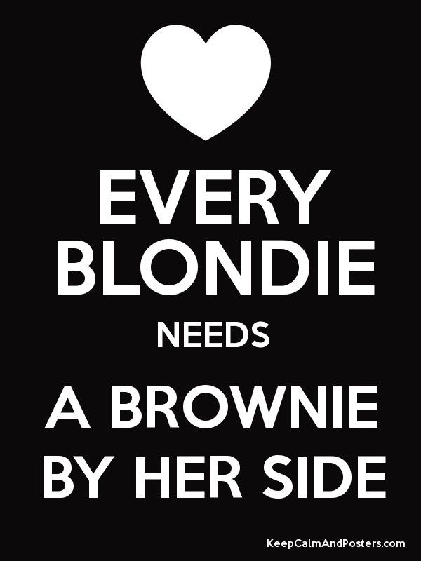 78 best images about every blondie needs a brownie on. Black Bedroom Furniture Sets. Home Design Ideas