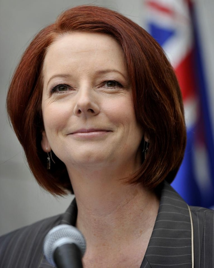 """Julia Gillard, first female Australian Prime Minister - """"met her a couple of times. Sincere empathy for people with disabilities."""""""