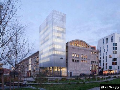 Le Courrier de l'Architecte | M3A2. Deux lettres, deux chiffres pour une tour à Paris