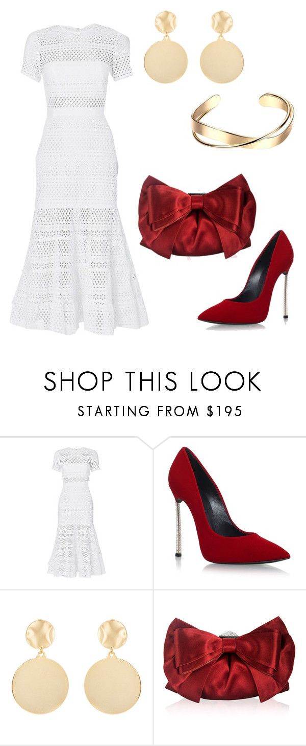 """A Westside Story"" by coco-fernandez on Polyvore featuring self-portrait, Casadei, Mounser and Judith Leiber"