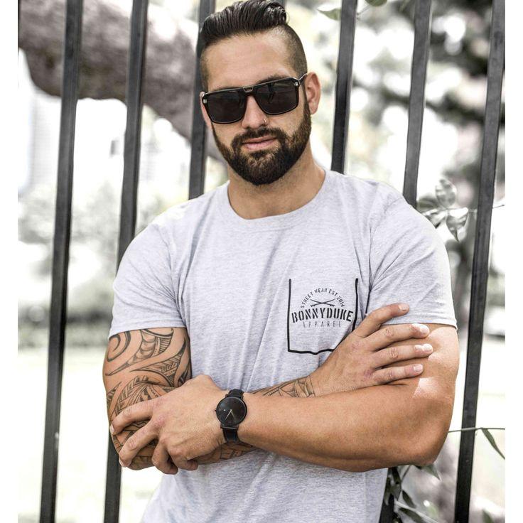 Men's fashion #swag #tattoos #watch