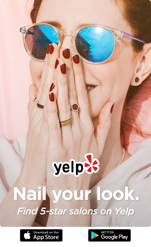 Download Yelp To Book An Appointment At A 5 Star Nail Salon Star Salon Manicure And Pedicure Yelp App