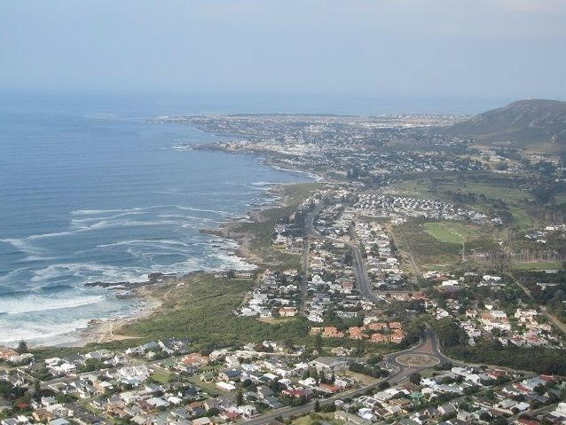 Greater Hermanus in the distance.