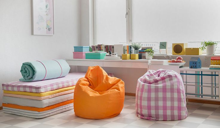 Kinderzimmer mit Bemz-Produkten   Bemz