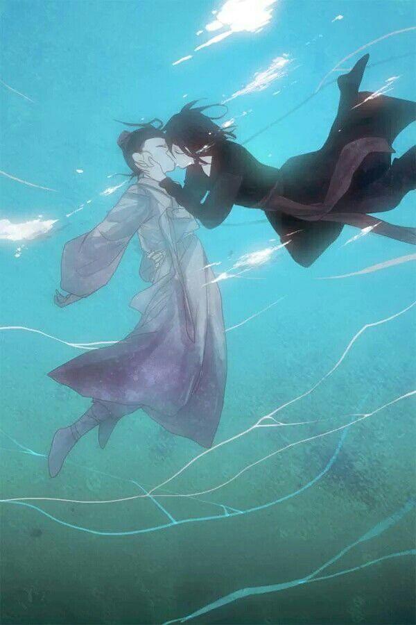 Underwater kiss♡
