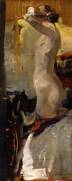 The Athenaeum - Standing Nude Date unknown (George Heidrik Breitner - )