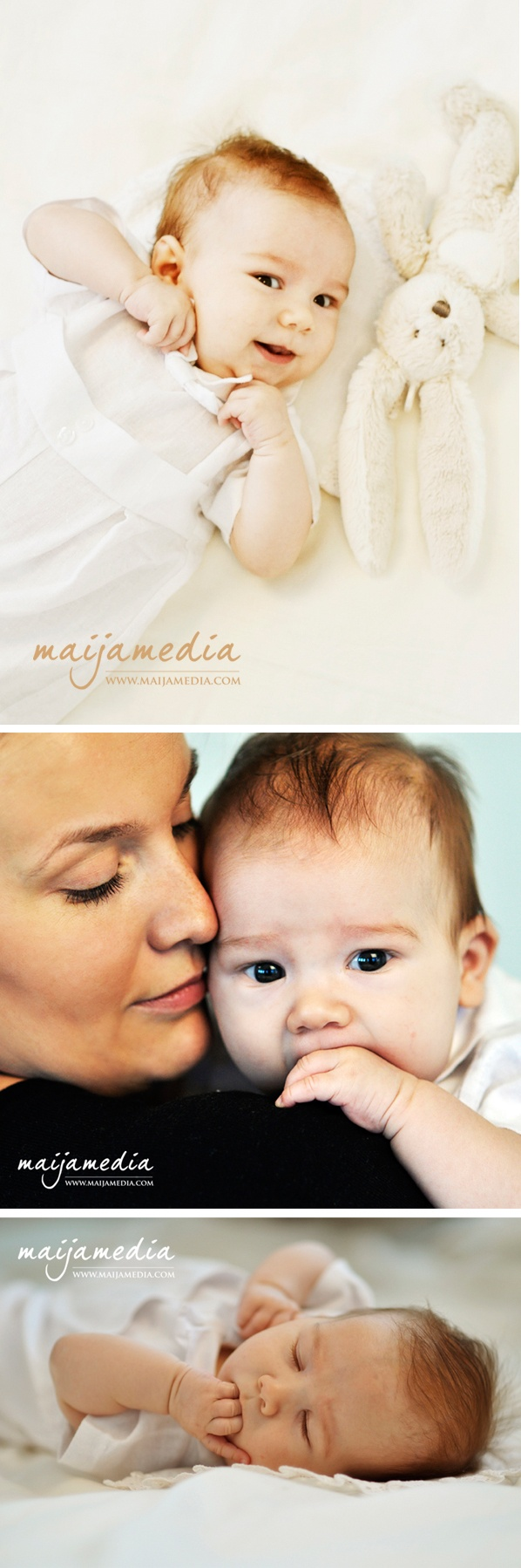 "Baby Photography by Maijamedia. Mikael 3 months. ""What can you do to promote world peace? Go home and love your family."" ― Mother Teresa - http://pinterest.com/maijamedia/photography-kids-family/"