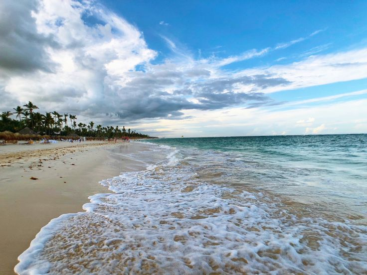 Sunny Day on the Beaches of Punta Cana