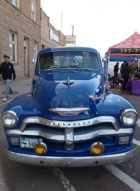 54 Chevy Truck by pathensch, via Flickr
