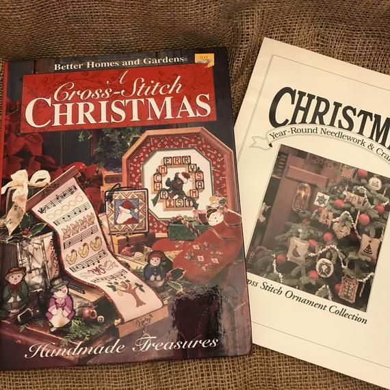 garden A Cross Stitch Christmas Book Better Homes and Gardens
