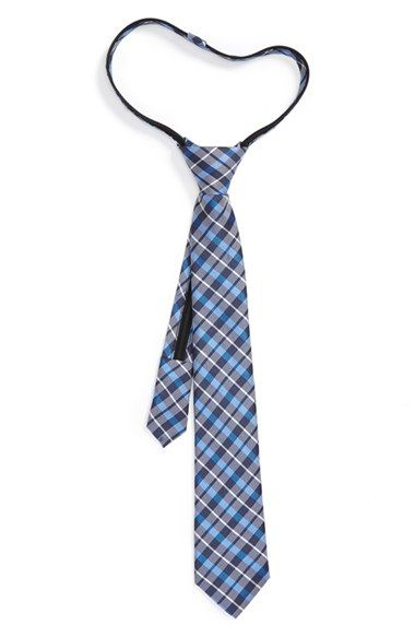 Free shipping and returns on Nordstrom Plaid Silk & Cotton Zipper Tie (Big Boys) at Nordstrom.com. Modern plaid adds color to a handsome zipper tie cut from a smooth silk-and-cotton blend.