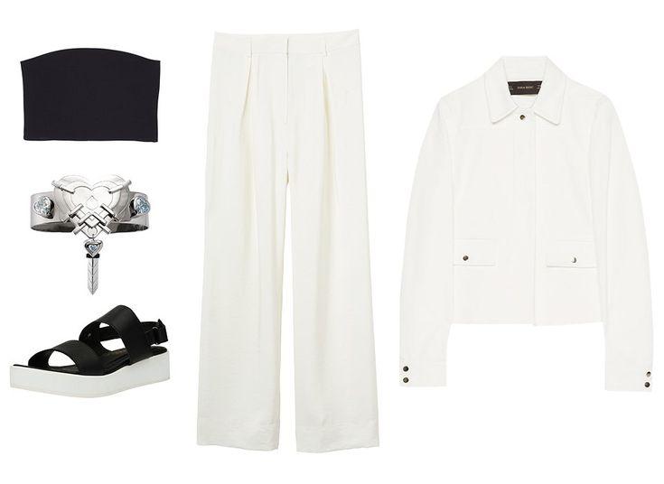 Как сочетать мешковатые брюки с рубашкой, курткой и другими вещами
