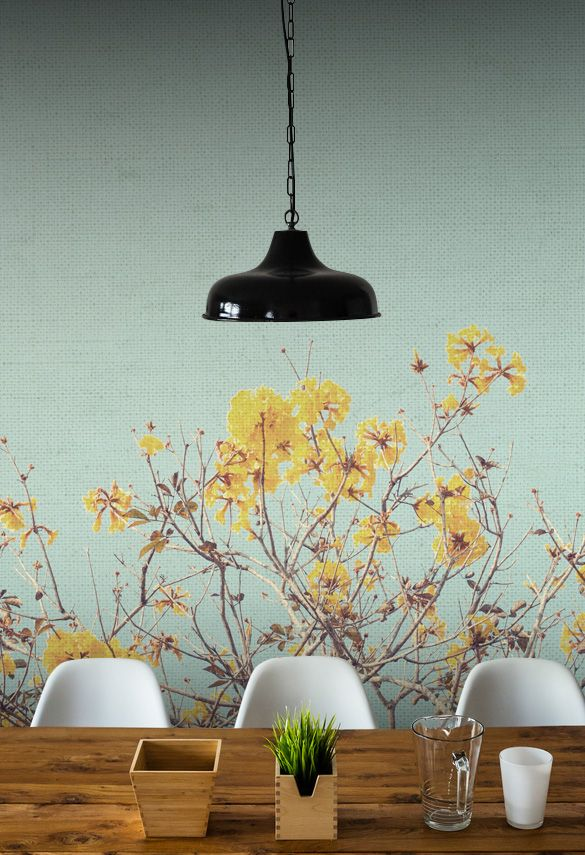Vintage Tree Wall Mural #wallmural #wallpaper #floral #flower #interiordesign #romantic #vintage #tree