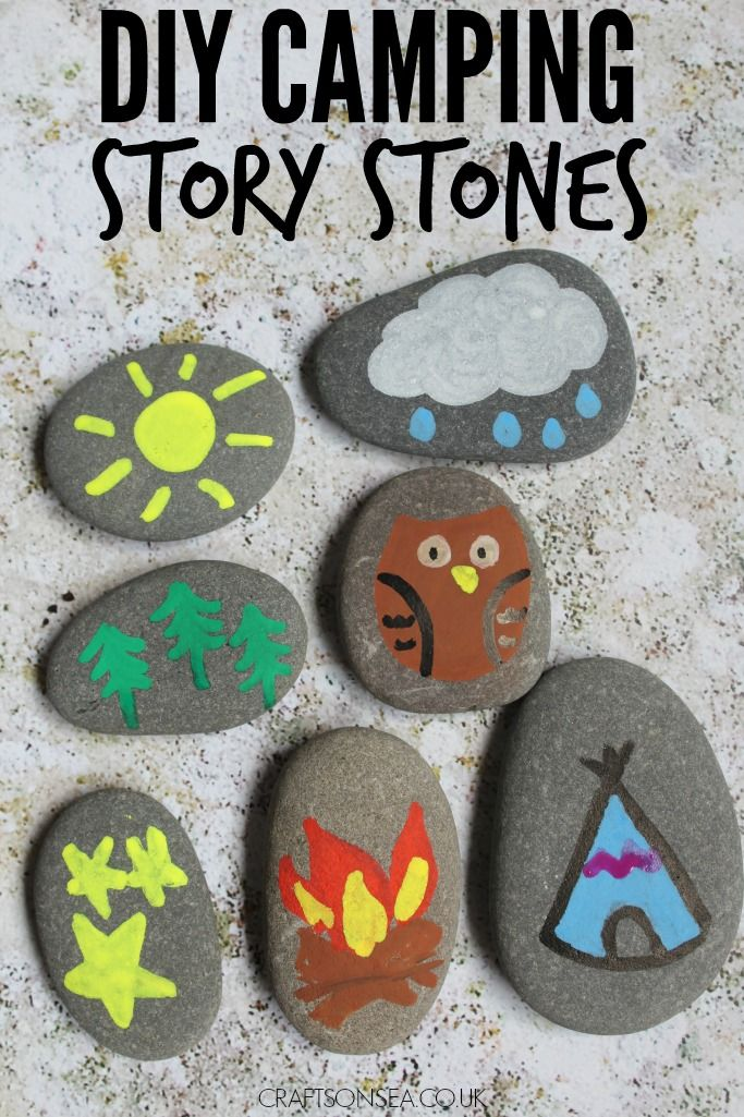 Ready for an adventure? These fun camping story stones are super easy to make and are a great way to encourage creativity.