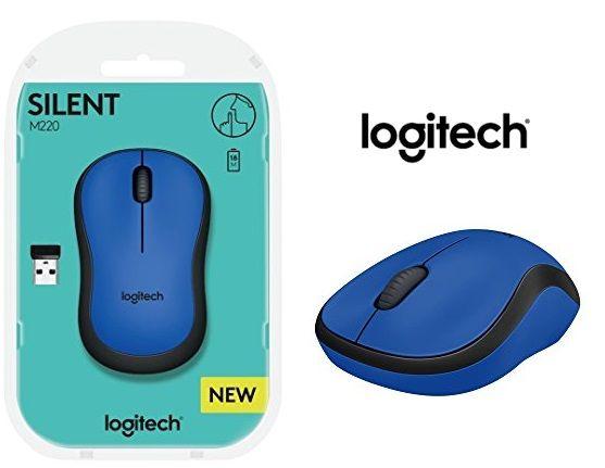 ¡Chollo! Ratón inalámbrico Logitech M220 SILENT por 12.90 euros.