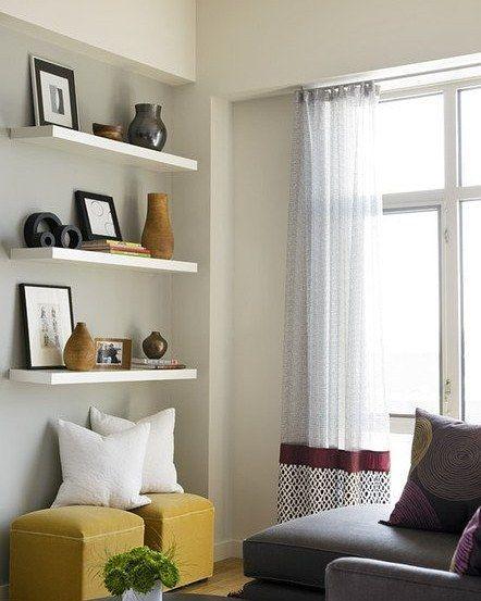 """Shared by favwallshelves #homedesign #contratahotel (o) http://ift.tt/1S2AYuF Dinding Minimals/Floating Complete FCS""""60/60/60""""(3bh RAK PREMIUM)  Rp 415.000  Floating Shelves dengan dimensi 60x20x 4 cm = (3Buah) . Rak dinding melayang minimalis murah dan berkualitas dapat memberikan kesan elegan di ruangan anda Bahan terbuat dari kayu lapis MC (Meranti Campur) berkualitas tinggi yang difinishing dengan Hard melamin dan CAT DUCO. kapasitas beban sampai 8 kg. ukuran dan warna tersedia atau…"""