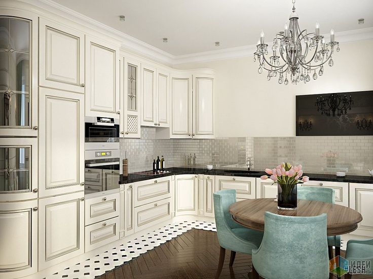 Дизайн-проект квартиры, интерьер кухни