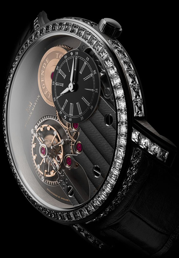 Roshan Martin Légende Tourbillon Watch via: