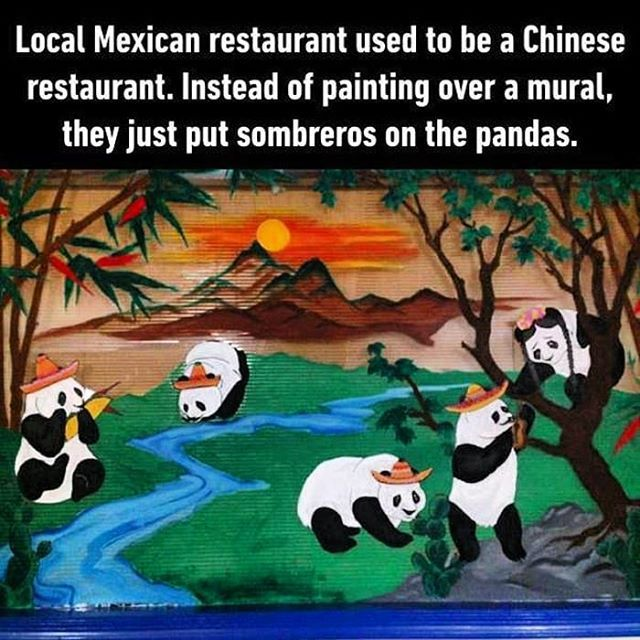 Chinese to Mexican restaurant