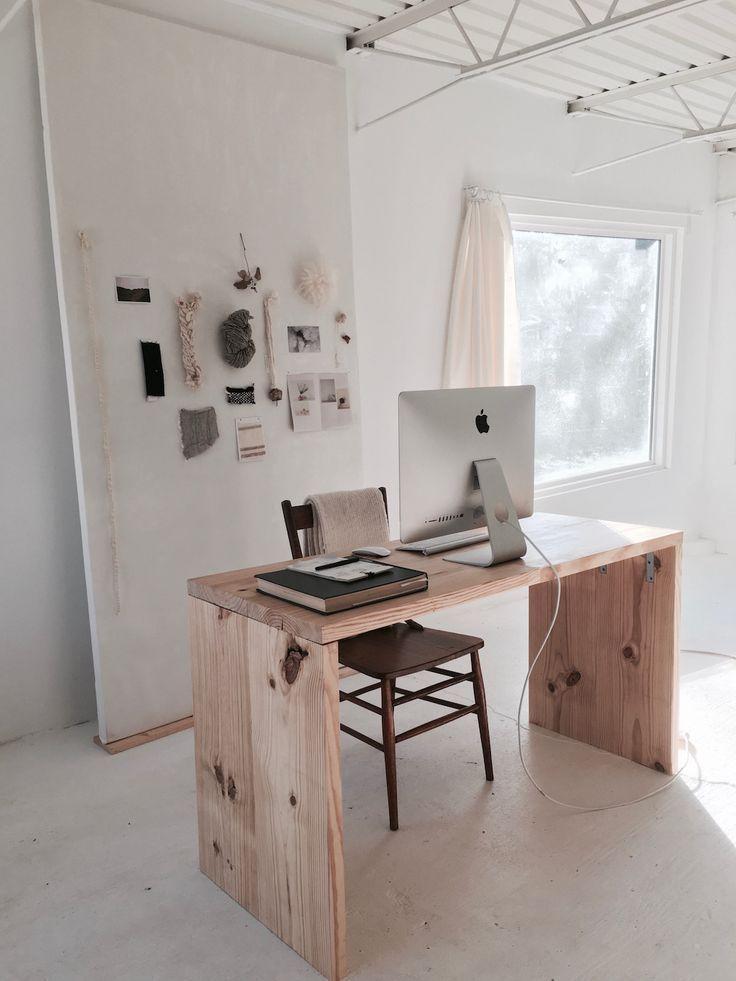 inside han starnes s dreamily minimalist nashville studio of a rh pinterest com