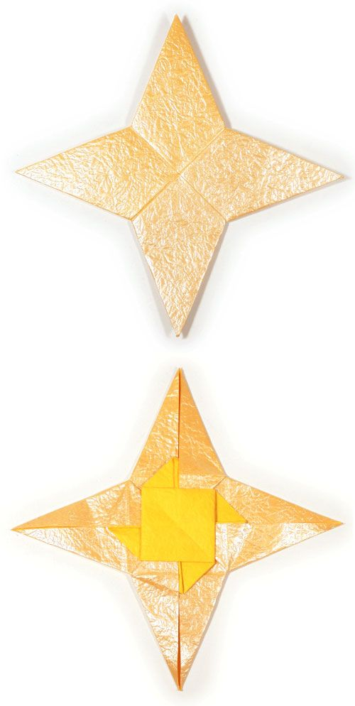 how to make a paper ninja star instructions