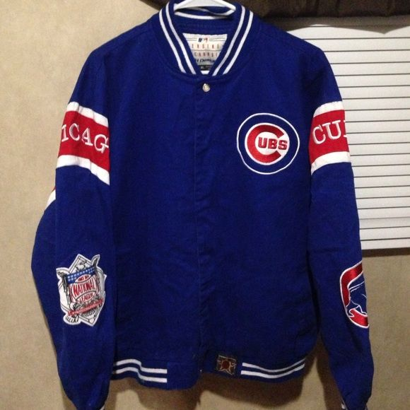 Chicago Cubs jacket Chicago Cubs jacket  been worn once or twice like brand new MLB Jackets & Coats