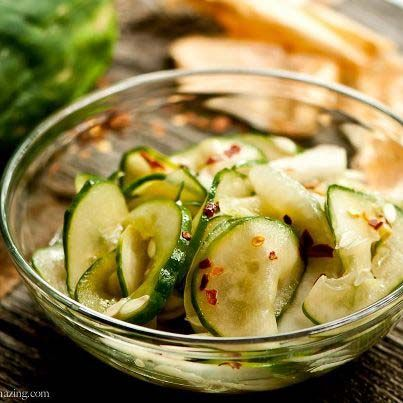 If you're on the Ideal Protein program, this Marinated Cucumber Salad recipe is perfect for you. For more great recipes, check out our recipes page.