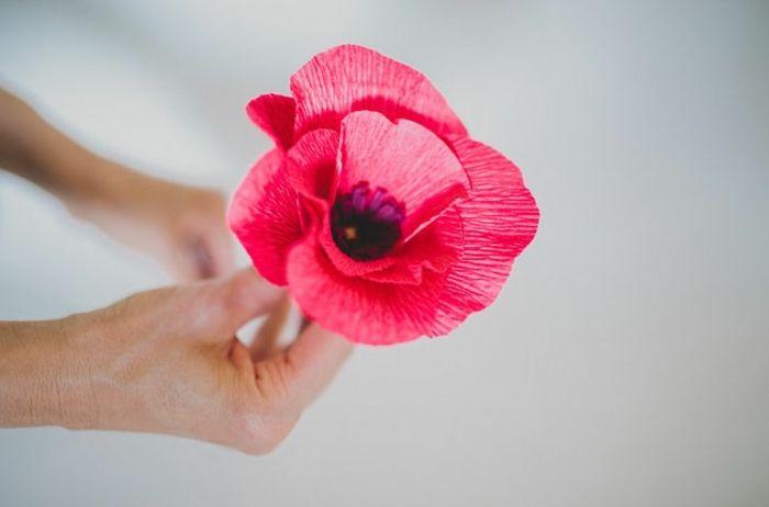 1001 Ideen Wie Sie Papierblumen Basteln Konnen Papierblumen Basteln Papierblumen Papierblumen Diy