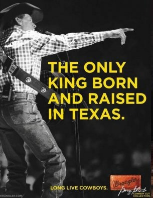 George Strait. Love seeing him and his Wranglers in concert at The Rodeo!!