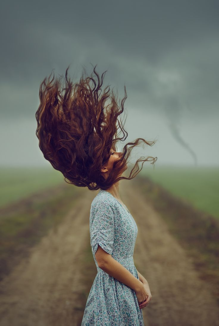 ethereal portrait / wild hair by photographer @monicalazar 2015-12 (via ello - the anti-fb ; )