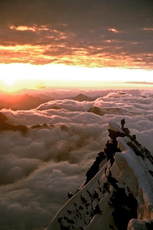 Escalada: Photos, Natural Beautiful, The View, Cloud, Places, Austria, Grossglockner, Gross Glockner, Heavens