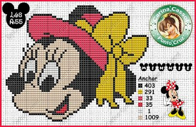 Dot Magic: Disney Graphics <strong>схема вышивки мини-маус</strong> faces.