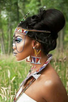 Beautiful African Queen! #Shadders