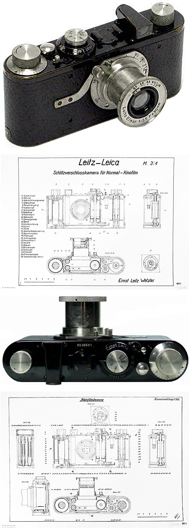 【Leica×Germany Brand】ライカ カメラの王者に君臨する 10 の美しい透視図と設計図