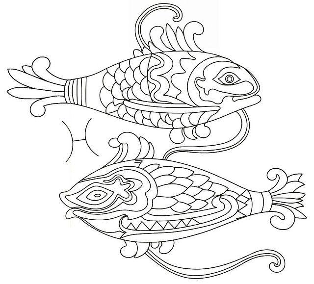 Zodiac Coloring Pages Miakenasnet