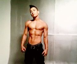 Taeyang shirtless gif - Google Search
