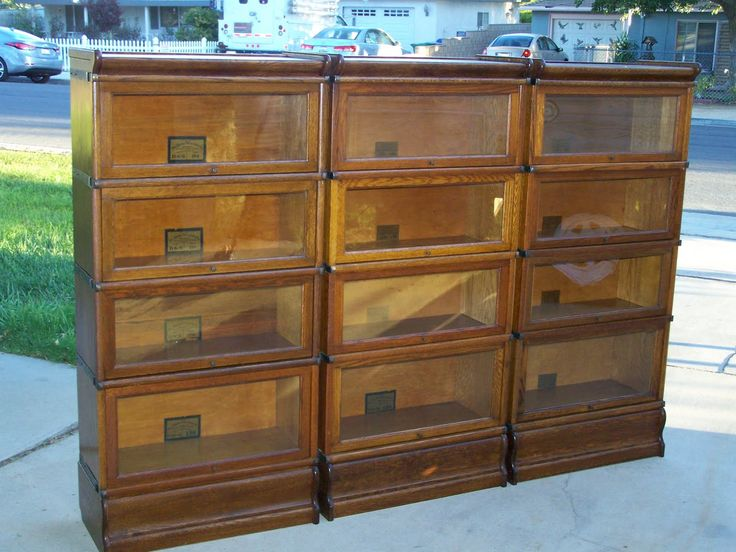 7 Best Images About Antique Lawyer Barrister Bookcases